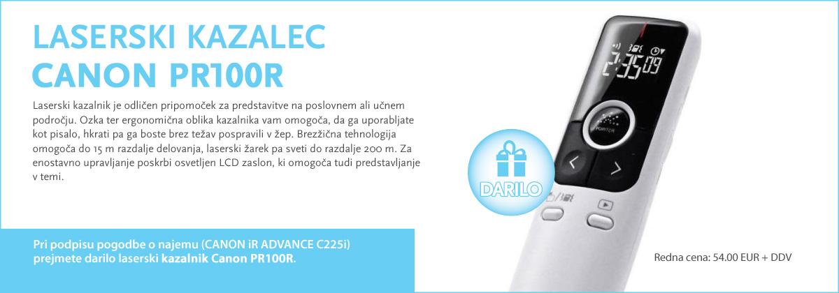 Kazalec Canon PR100R