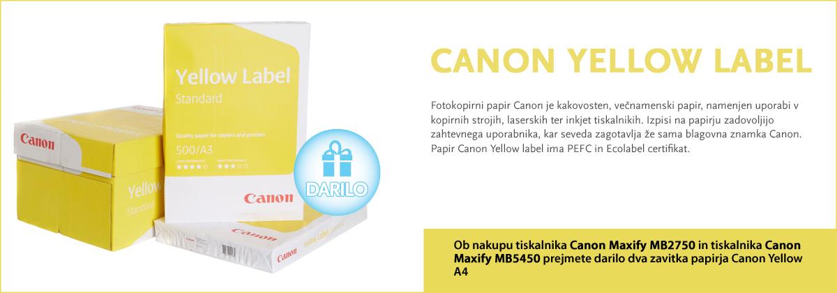 Canon Yellow A4